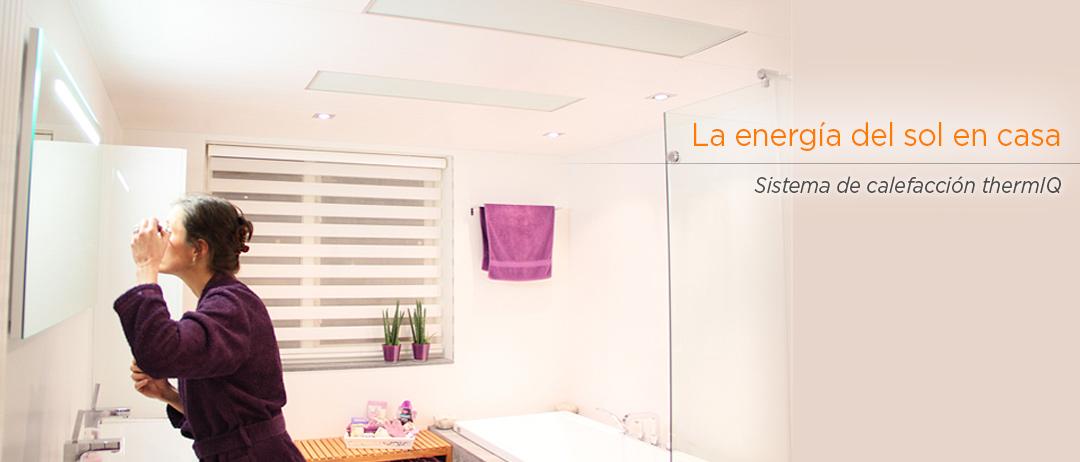 La energía del sol en tu casa
