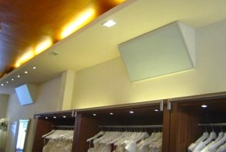 sistemas de calefacción para tiendas y centros comerciales